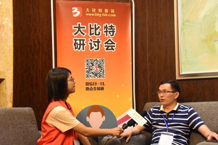 第九届微电机会议现场采访图6