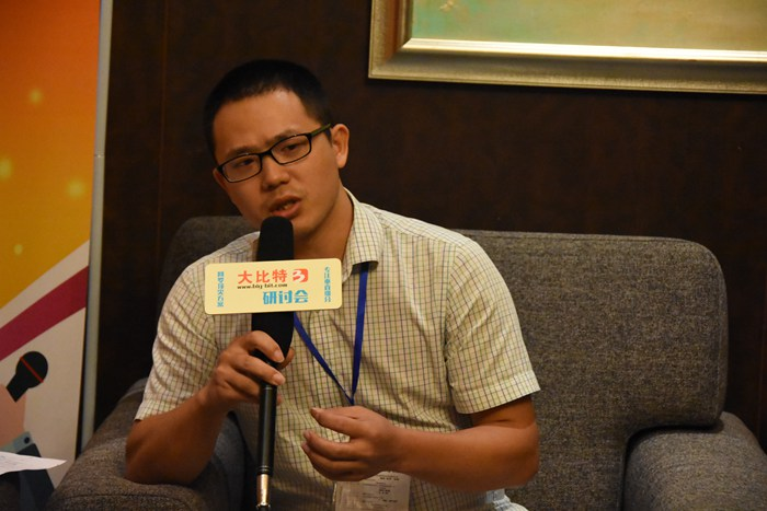 第九届微电机会议现场采访图8