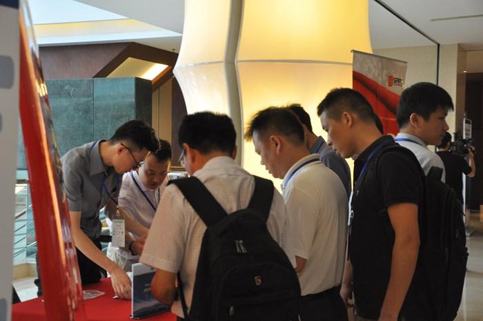 第九届微电机会议展示现场图1