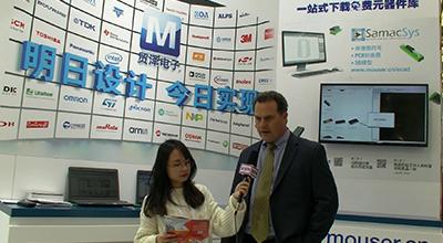 2019慕尼黑上海电子展 贸泽(北京)电子科技专访
